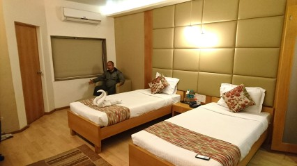 Our hotel room in Siliguri